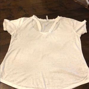 Z Supply Size medium white t shirt